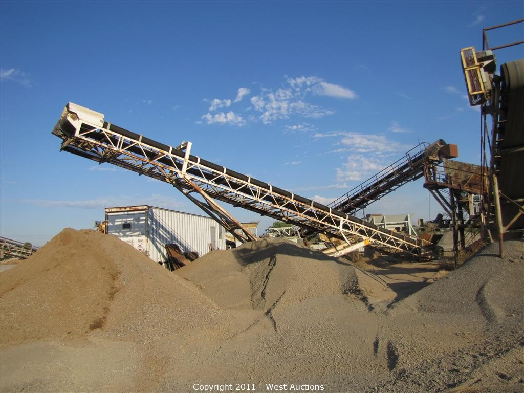 West Auctions - Auction: Portable Crushing Plant & Heavy Equipment