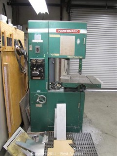 Heavy-Duty Industrial Band Saw - Powermatic Model 87