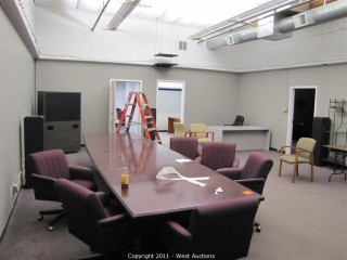 Variety Lot - Video Projectors, Chairs, Conference Table, Desks