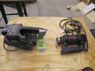 Skil Belt Sander and Rotozip Spiracut
