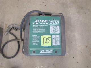 (2) Speedaire 6W614 Sand Blasters