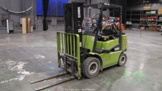 Clark CGP25 4,200 lb. Forklift