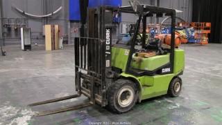 Clark CGP25  4,600 lb. Forklift