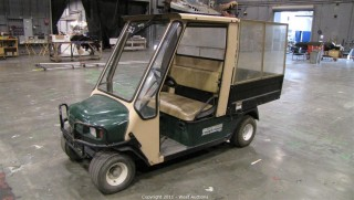 E-Z-Go Workhorse Cart with Manual Dump Bed