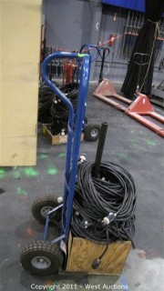 Custom Hand Truck and 115V Extension Cords