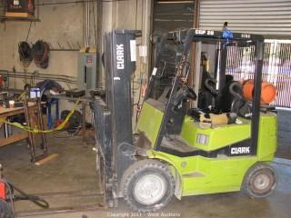 Clark CGP25 3,675 lb. Forklift