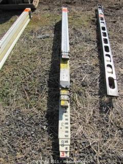 (4) Survey Rods