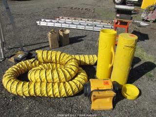 Americ Corp Blower and (2) 25' Expandable Air Tubes