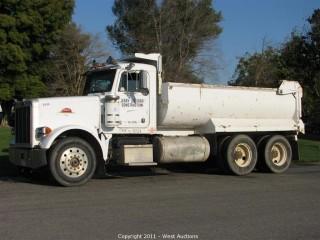 1988 Peterbilt 378 Dump Truck in Woodland, CA