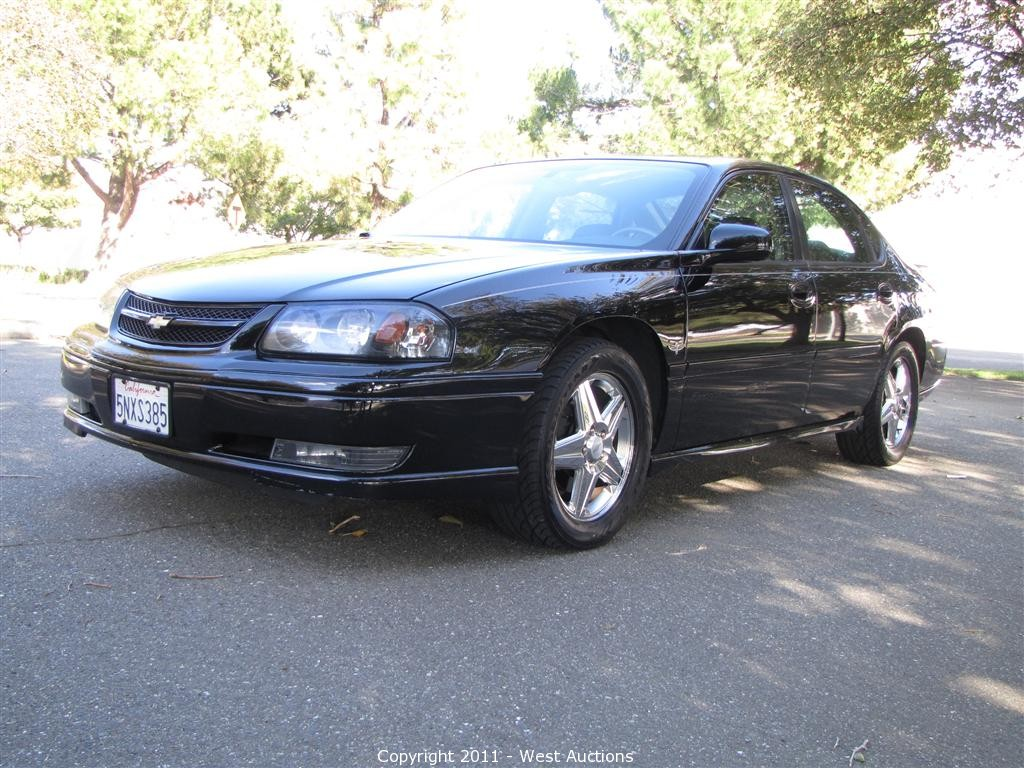 All Types 2004 impala ss indy edition : West Auctions - Auction: 2004 Impala SS Indianapolis Motor ...