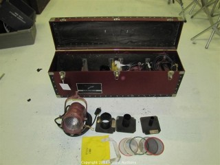 Mole Richardson Type 2351 Midget Solarspot and Accessory Carrying Case