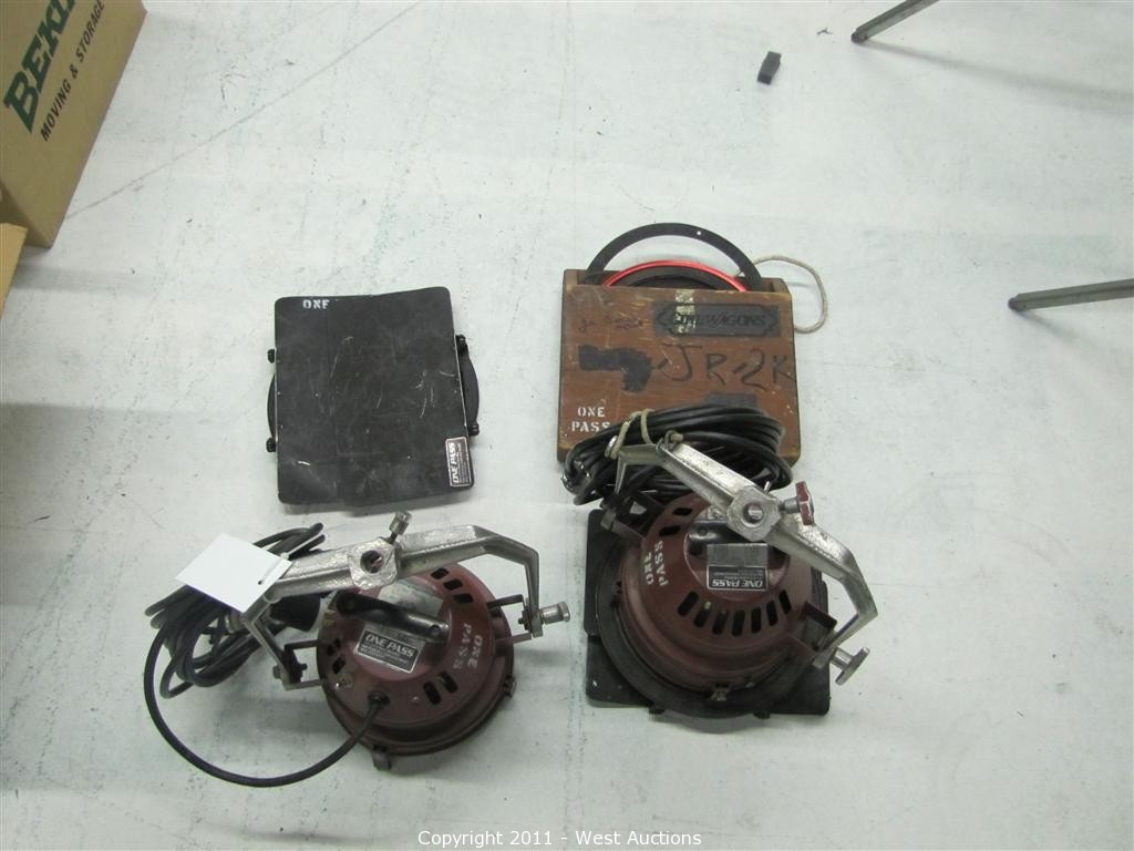 West Auctions - Auction: Lighting, Grip Equipment and Furniture from ...