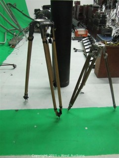 (2) Camera Tripods