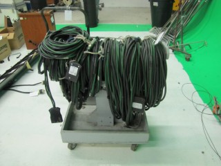 (7) 60 Amp and (1) 100 Amp Extension Cord Welding Wire