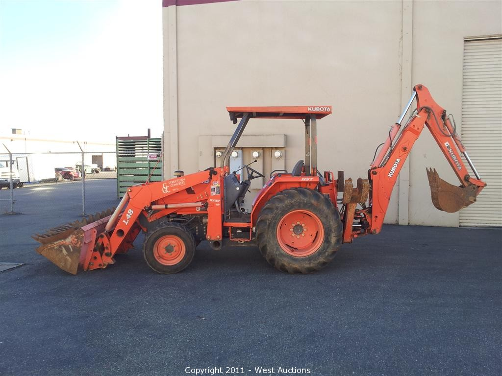 West Auctions - Auction: Kubota Loader, Mustang Skid Steer