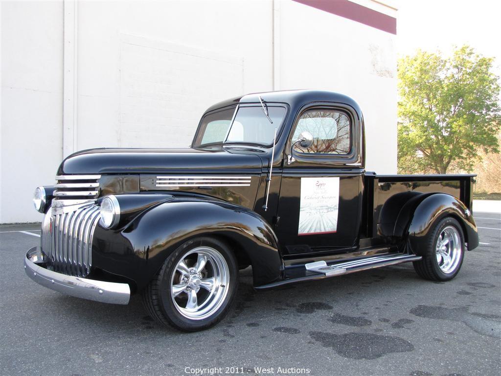 Silverado 1992 chevy silverado parts : West Auctions - Auction: 1946 Pickup, 1983 Cadillac Limousine ...