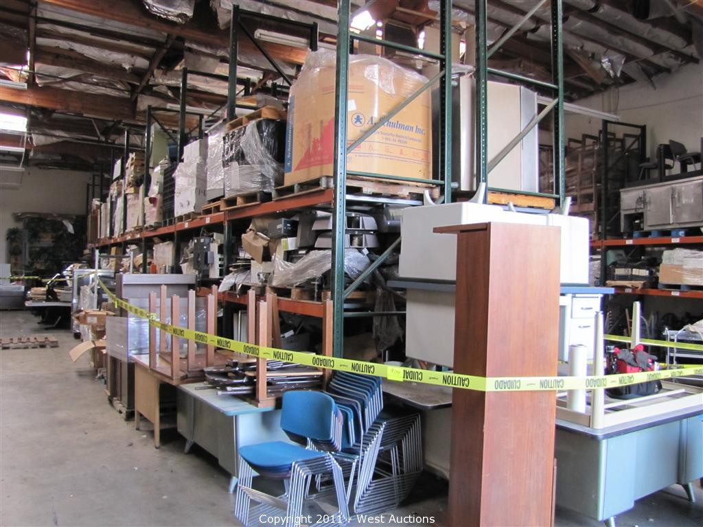 West Auctions Auction First Bankruptcy Auction of Recycling