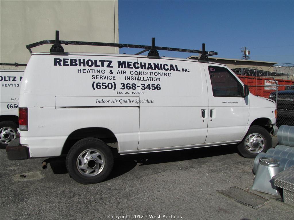 West Auctions - Auction: (4) Pickup Trucks, (3) Vans, a Box