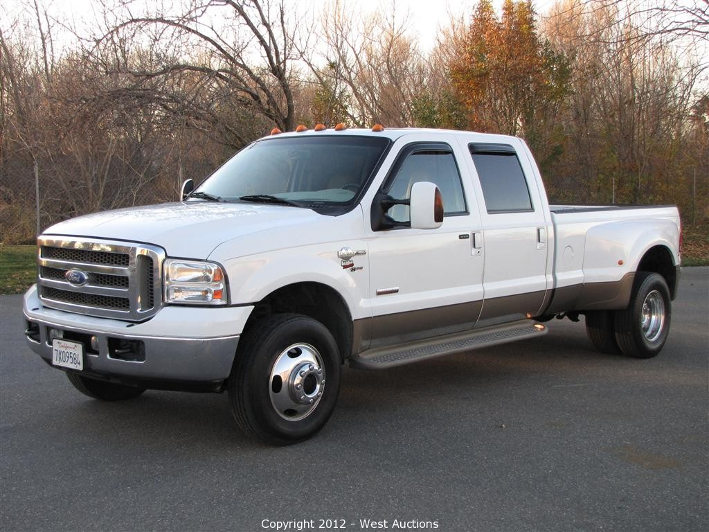 2006 ford f 350 king ranch truck