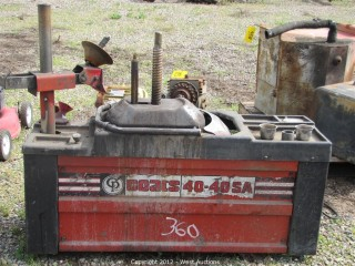 West Auctions - Auction: Liquidation of Vehicles, Tools and Equipment ITEM: Tire Changer Coats ...