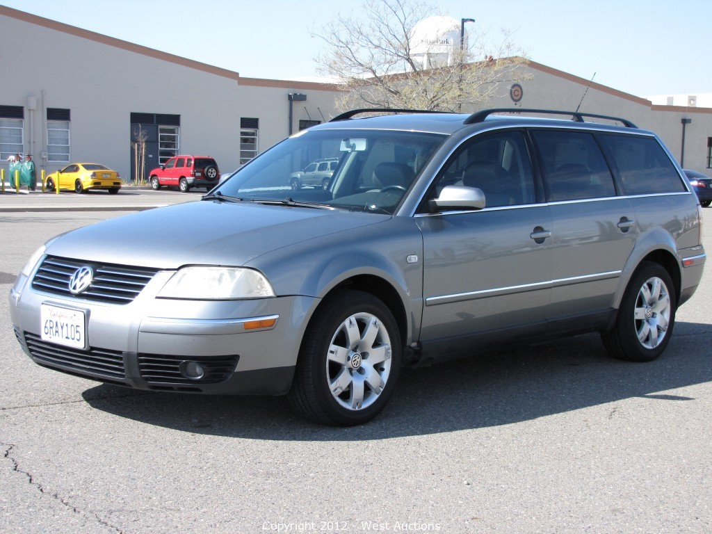 2007 mazda cx 9 multi purpose vehicle and 2004 volkswagen passat station wagon