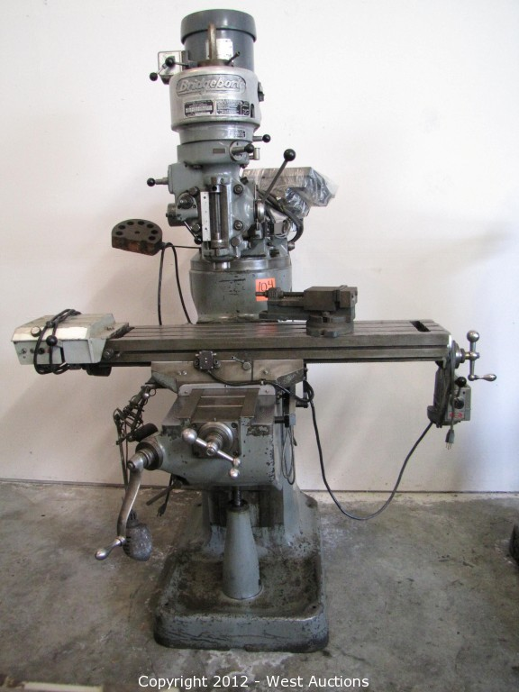 West Auctions Auction Machine Shop Tools And Equipment Item