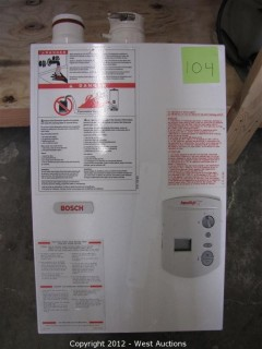 Bosch Aqua StarTankless Water Heater