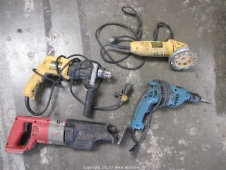 (4) Power Hand Tools