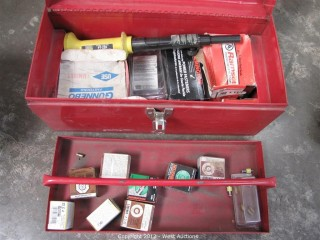 Simpson PT-22H Powder Actuated Tool with Accessories in Tool Box
