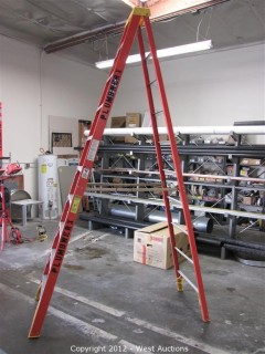 Warner 10' Folding Fiberglass Ladder