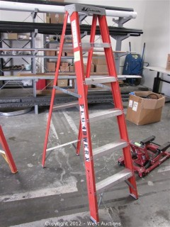 Louisville 6' Folding Fiberglass Ladder