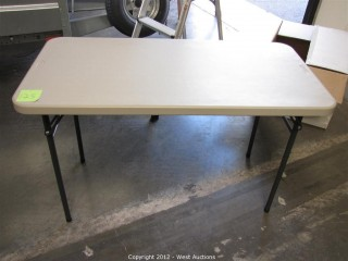 Sudden Solution 4' Folding Table