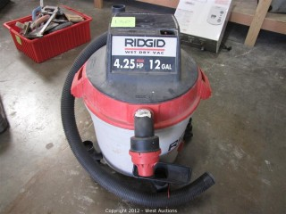 Ridgid 12 Gallon Wet Dry Vacuum