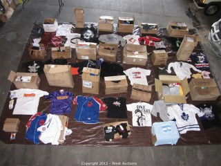 West Auctions - Clothing, Shoes, and Accessories from a Sports