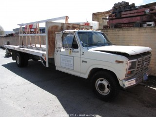 1982 Ford F350 A-Frame Utility Truck