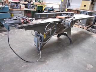 American Wood Working Machinery Planer
