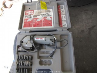 Porter Cable Profile Sanding System in Case