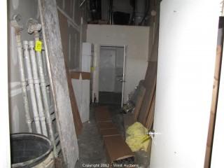 Scaffolding, Metal Cabinet, Plywood