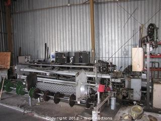 Computerized Chain Link Fencing Machine