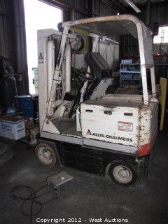 Allis-Chalmers Electric Forklift with Charger