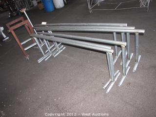 (6) Steel Saw Horses
