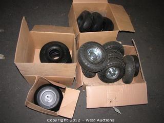 (15) Pneumatic /Flatfree Tires