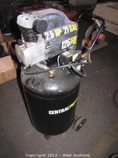 Central Pneumatic Portable Electric Air Compressor