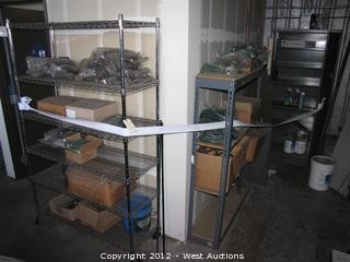 (3) Racks with Contents