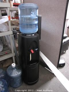 Alhambra Water Cooler with (3) Full Water Jugs