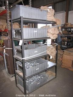 Galvanized Fence Hardware, Tension Bands, Rack
