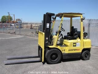 Hyster H50XM 4,800 lb. Propane Forklift