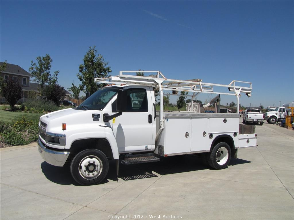 All Chevy chevy c4500 : West Auctions - Auction: Trucks, Trailers, Construction and ...