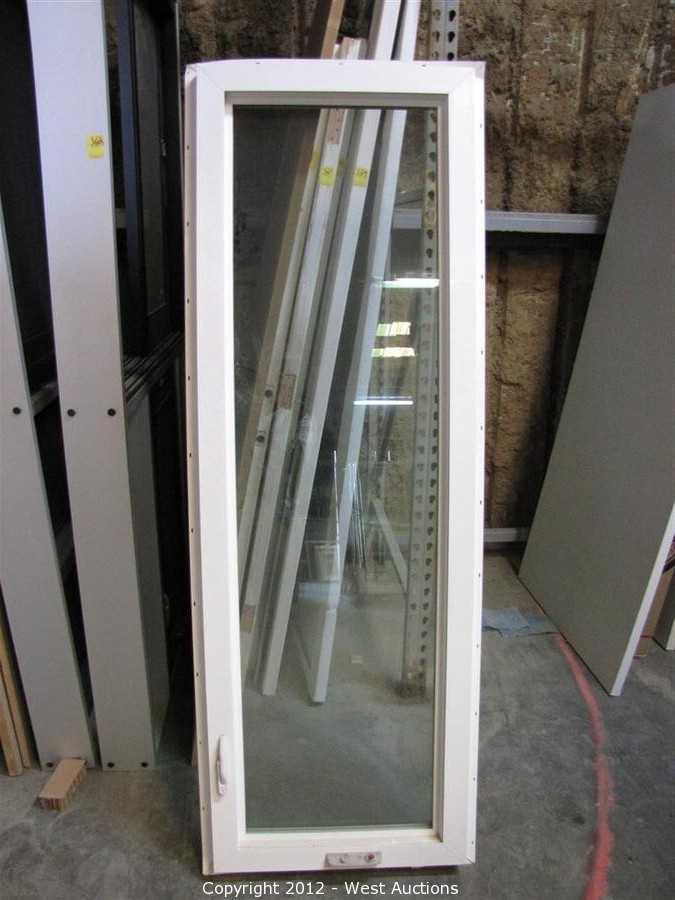 24 x 72 window operable vinyl surplus equipment and materials from lumberyard west auctions auction