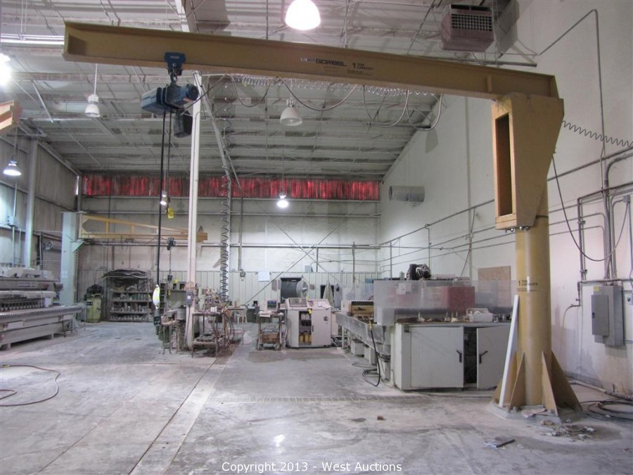 Granite Fabrication Equipment Auction Granite Fabrication